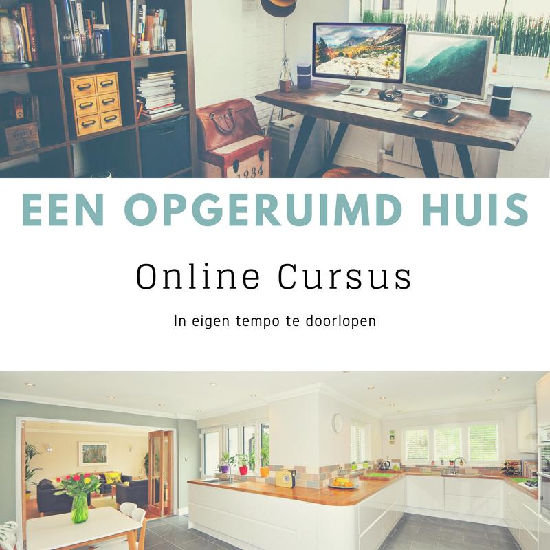 Online Cursus 'Een opgeruimd Huis'